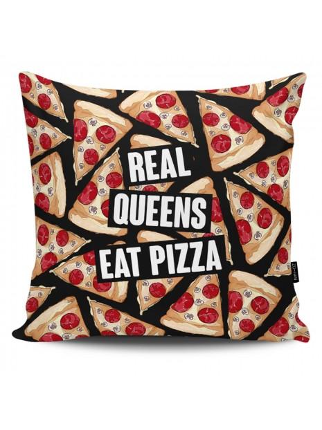 Poduszka Real Queens Eat Pizza
