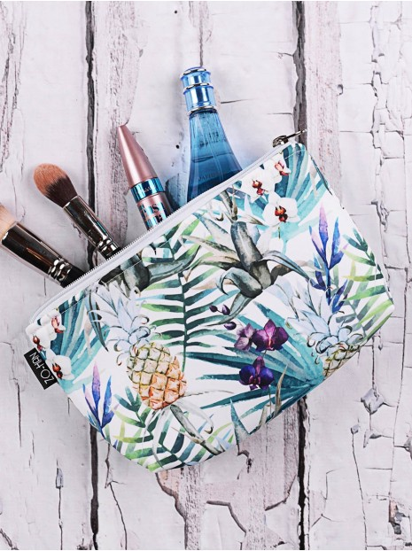 Exotic Pineapples Makeup Pouch