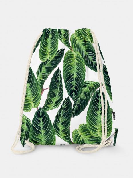Calathea Leaves Bag