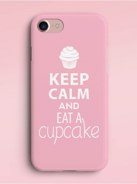 Keep calm and eat cupcake Case