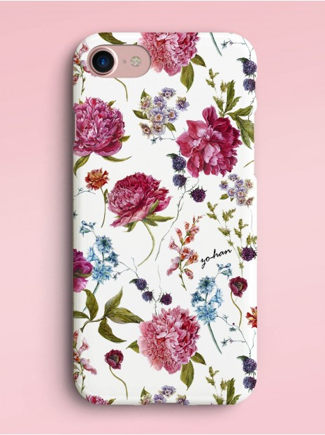 Burgundy Peonies Case