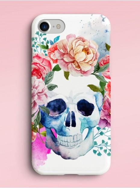Floral Skull Case
