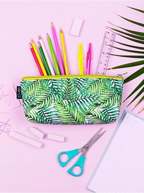 Green Leaves Pencil-case