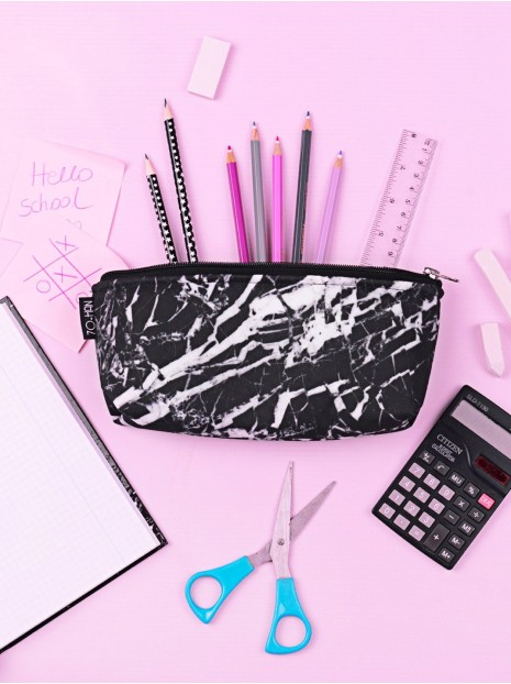 Black Marble Pencil-case