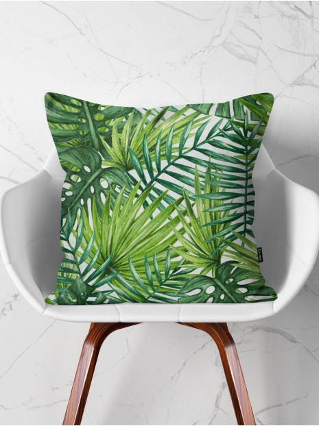 Green Leaves Cushion