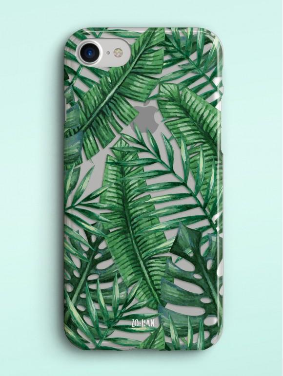 Palm Leaves - Transparent Case