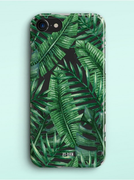 Palm Leaves - Transparent Case