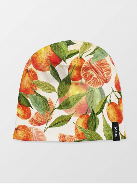 Sweet Tangerines Winter Hat