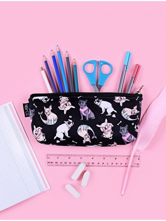 Bulldog's Adventures Pencil-case