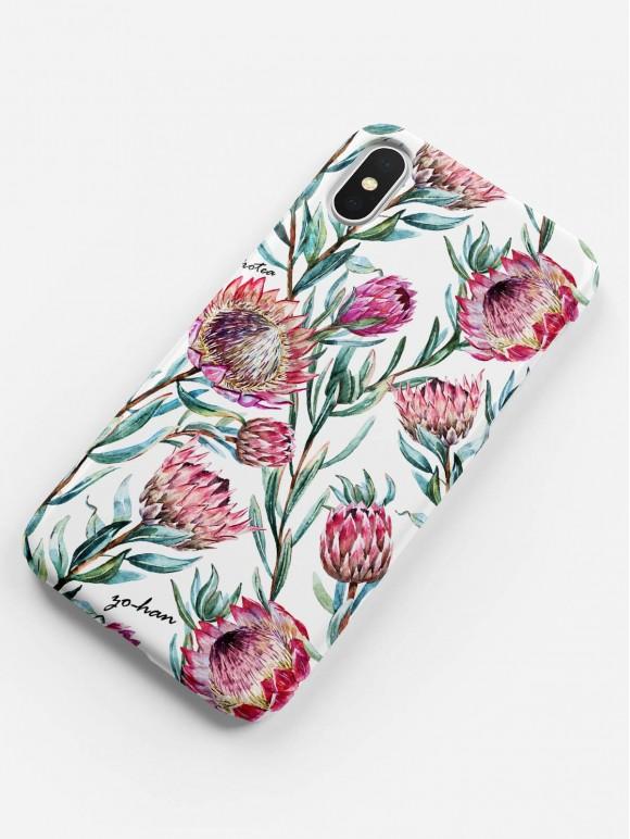 Tropical Protea Case