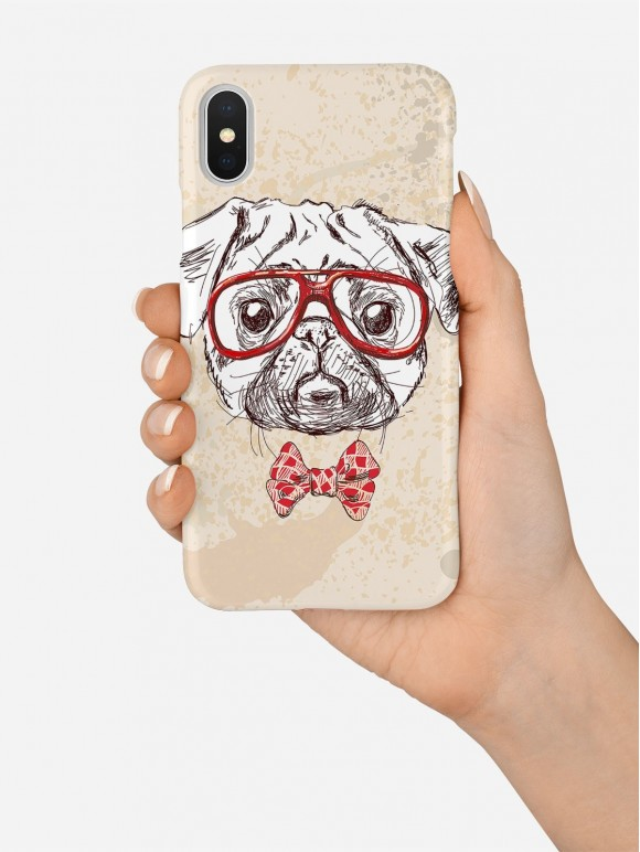Mr. Pug Case