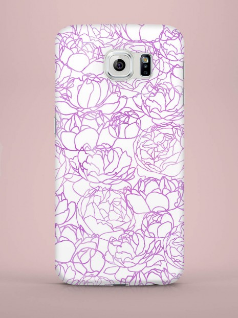 Purple roses Case