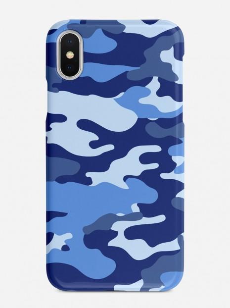 Blue Camo Case