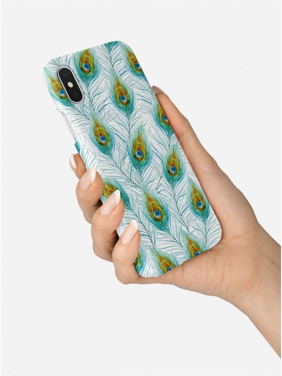 Peacock feather Case