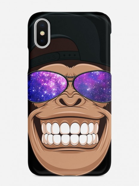 Galaxy Monkey Case