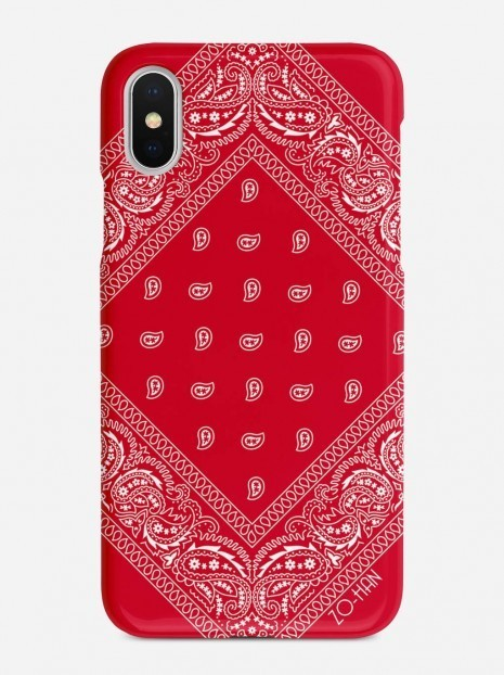 Red Bandana Case