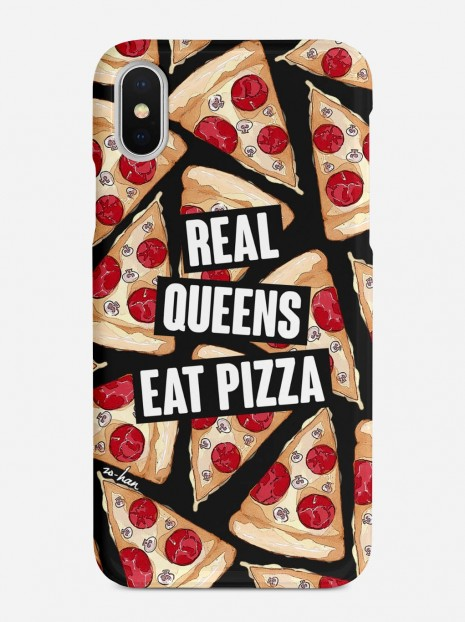 Real Queens Eat Pizza Case