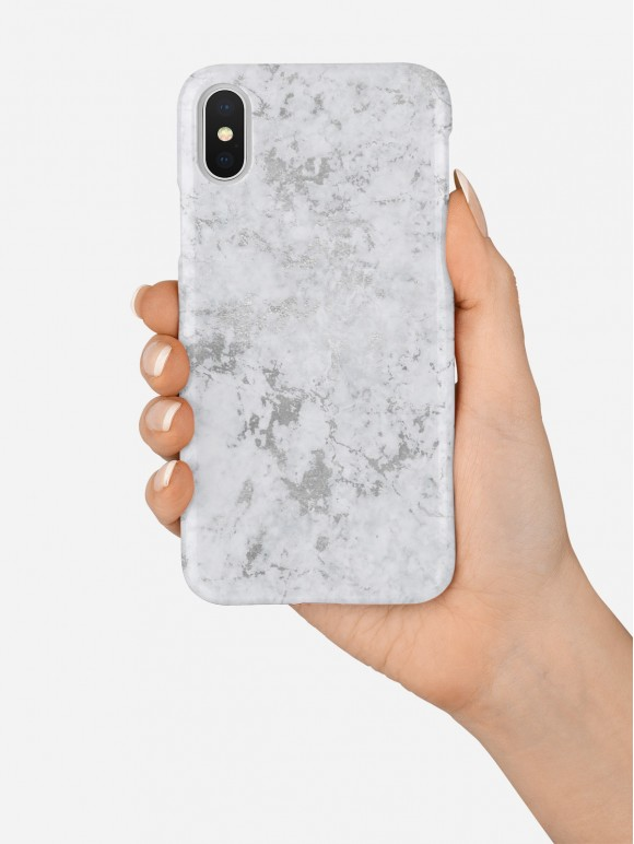 Silver Marble Case