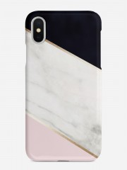 White Marble Mix Case