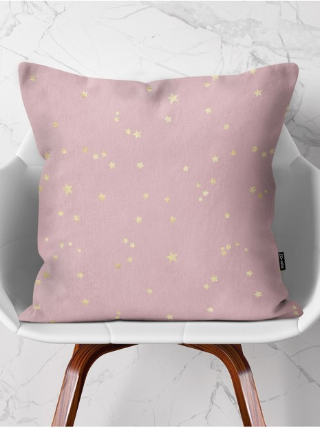 Throw Pillow Stars & Rose