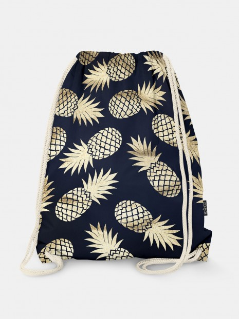 Worek Dark Golden Pineapples