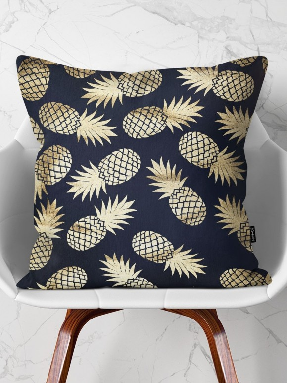 Poduszka Golden Pineapples