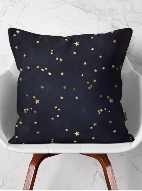 Throw Pillow Golden Stars